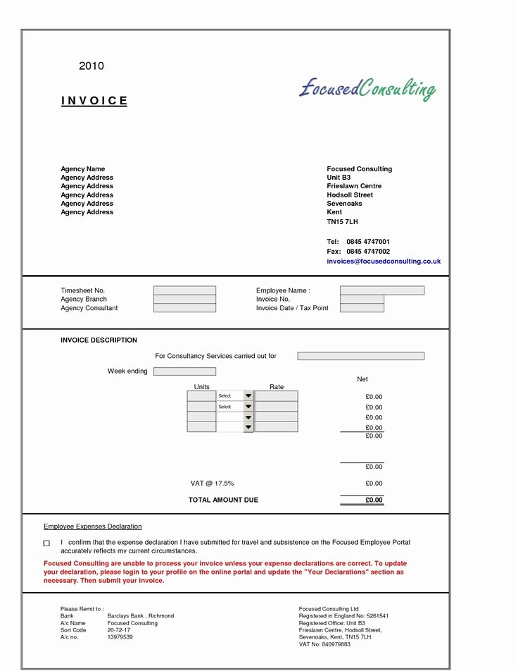 Invoice Template for Consulting Services Inspirational Sample Consultant Invoice Excel Based Consulting Invoice