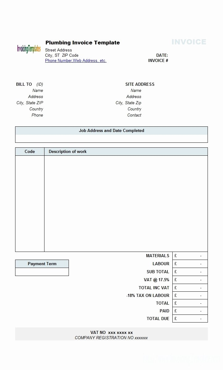 Invoice Template for Contract Work Inspirational Invoice for Contract Work Invoice Template Ideas
