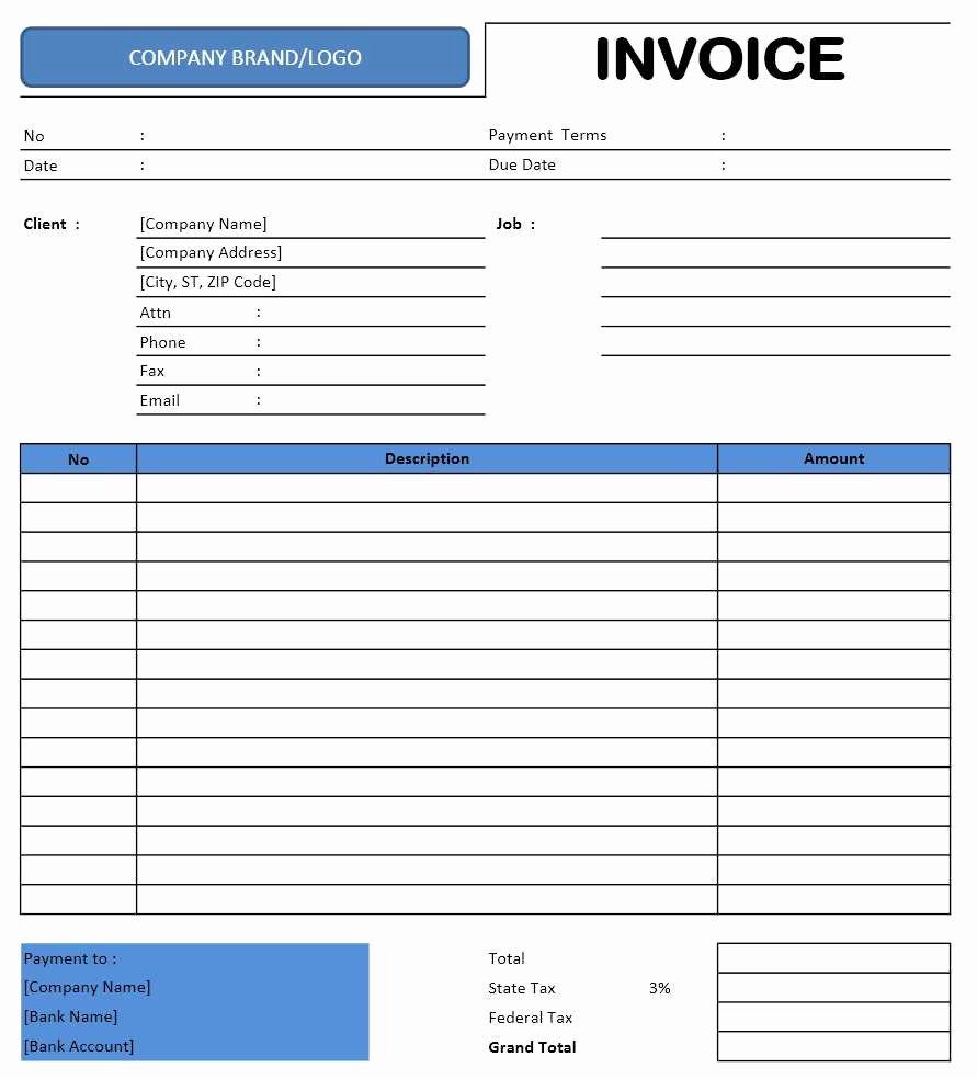 Invoice Template for Freelance Elegant Freelance Invoice Template Excel Templates