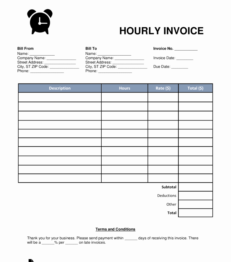 Invoice Template for Hours Worked Awesome Excel Based Consulting Invoice Template Manager Good Hours