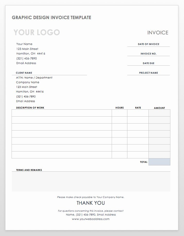 Invoice Template for Hours Worked Best Of Invoice for Hours Worked – Invoice Template