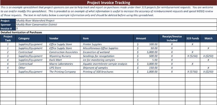 Invoice Tracking Template Excel Elegant Invoice Tracking Template to Track Your Sales and Receivables