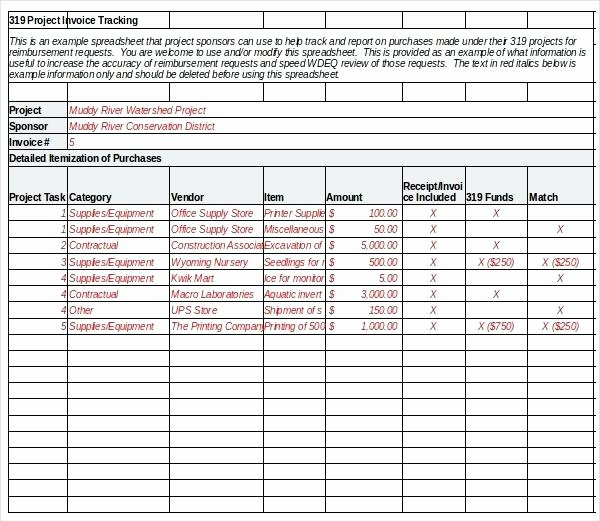 Invoice Tracking Template Excel Fresh Access Database Membership Tracking Templates Examples