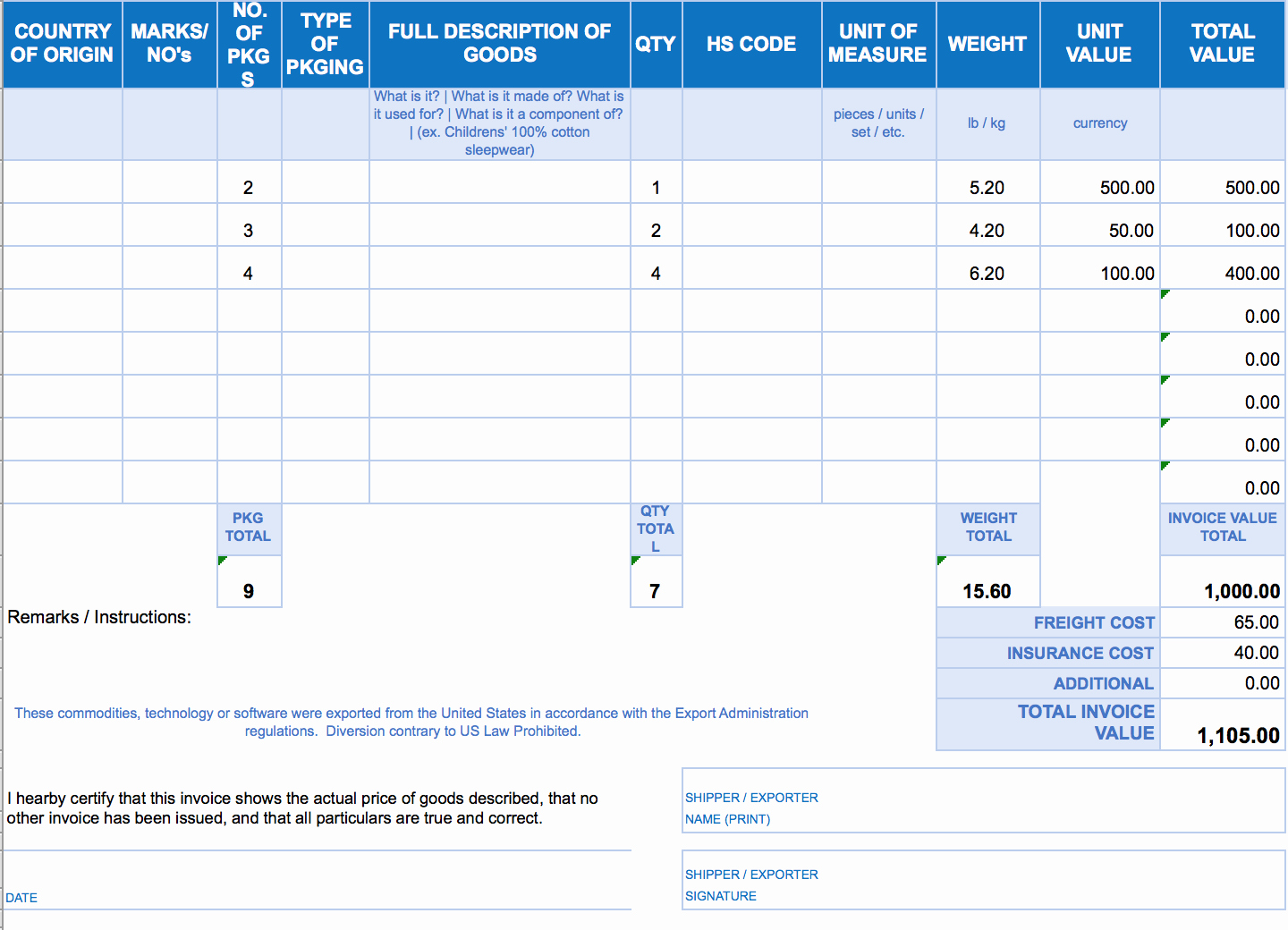 Invoice Tracking Template Excel Inspirational Free Excel Invoice Templates Smartsheet