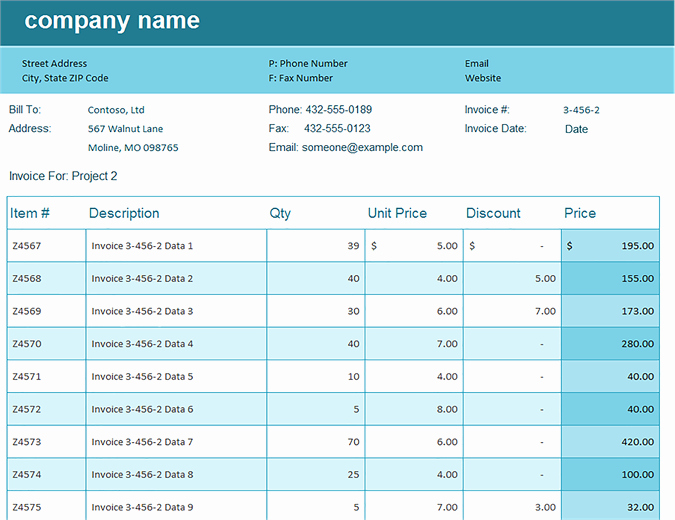 Invoice Tracking Template Excel Inspirational Sales Invoice Tracker