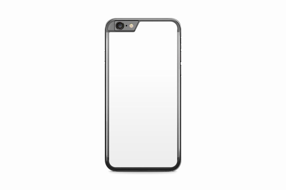 iPhone 6s Case Template Beautiful iPhone 6 6s Plus Mobile Clear Case Design Mockup Psd