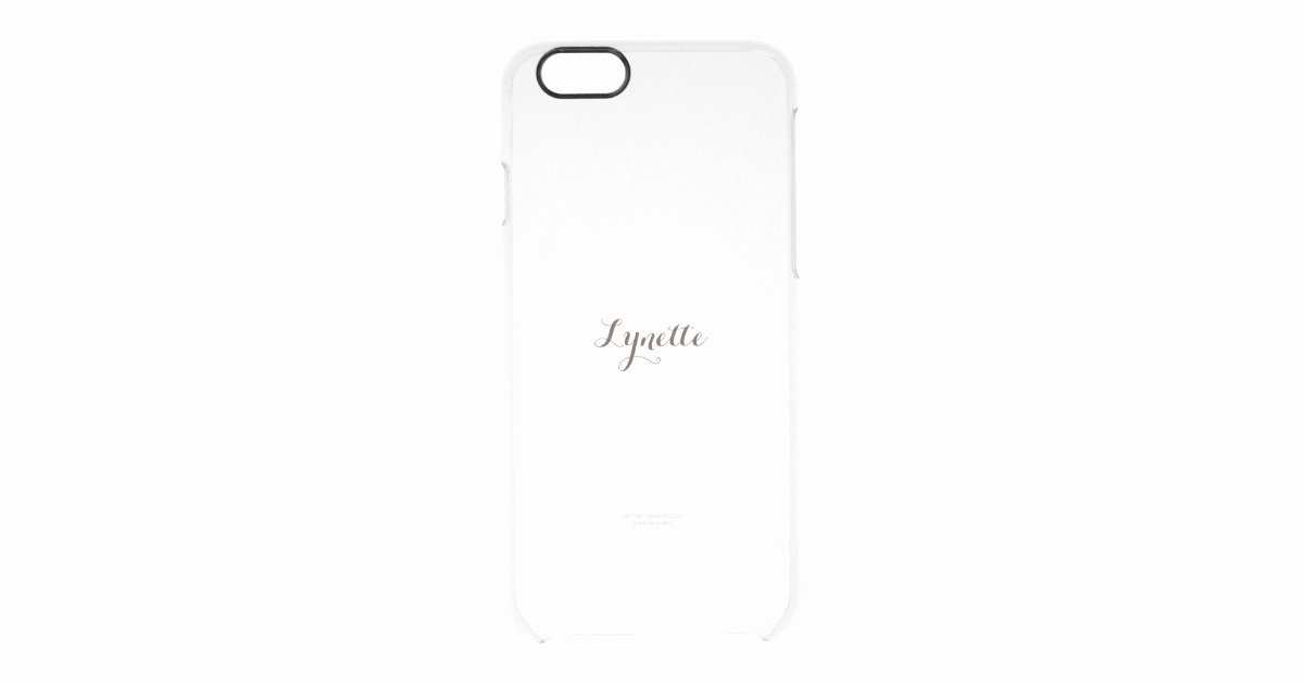 iPhone 6s Case Template Elegant Template iPhone Clear Clear iPhone 6 6s Case