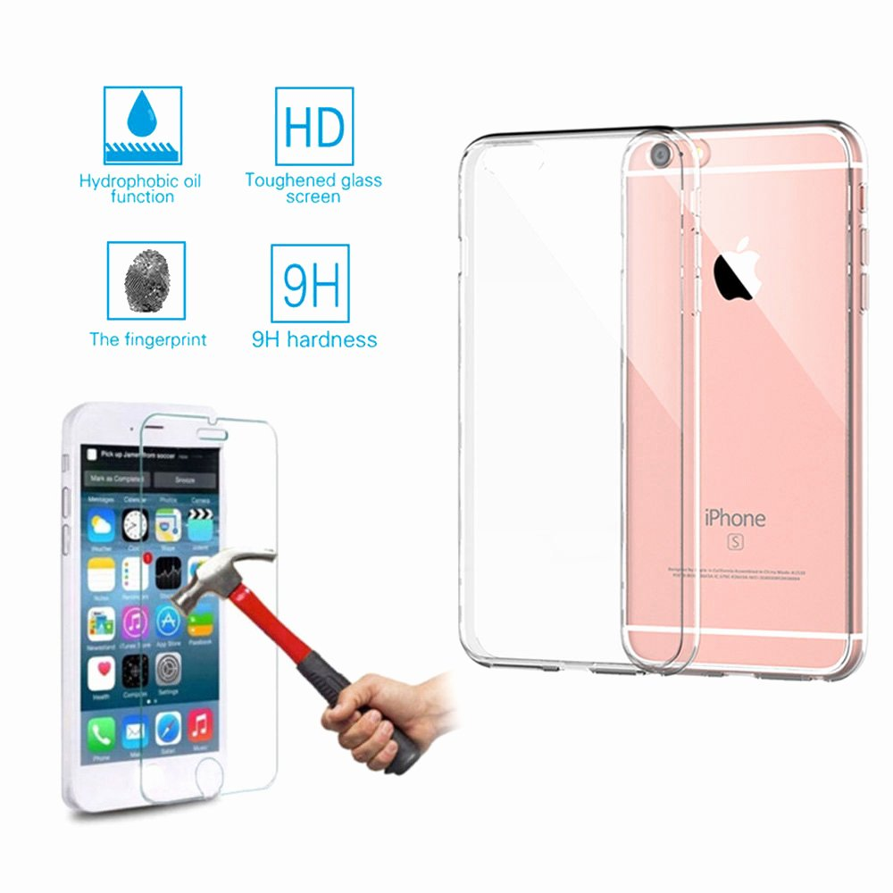 iPhone 6s Case Template Inspirational for iPhone 6 6s Plus Real Tempered Glass Screen Protector
