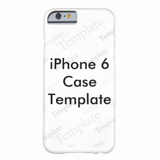 iPhone 6s Case Template New New iPhone 6 Slim Case Custom Template