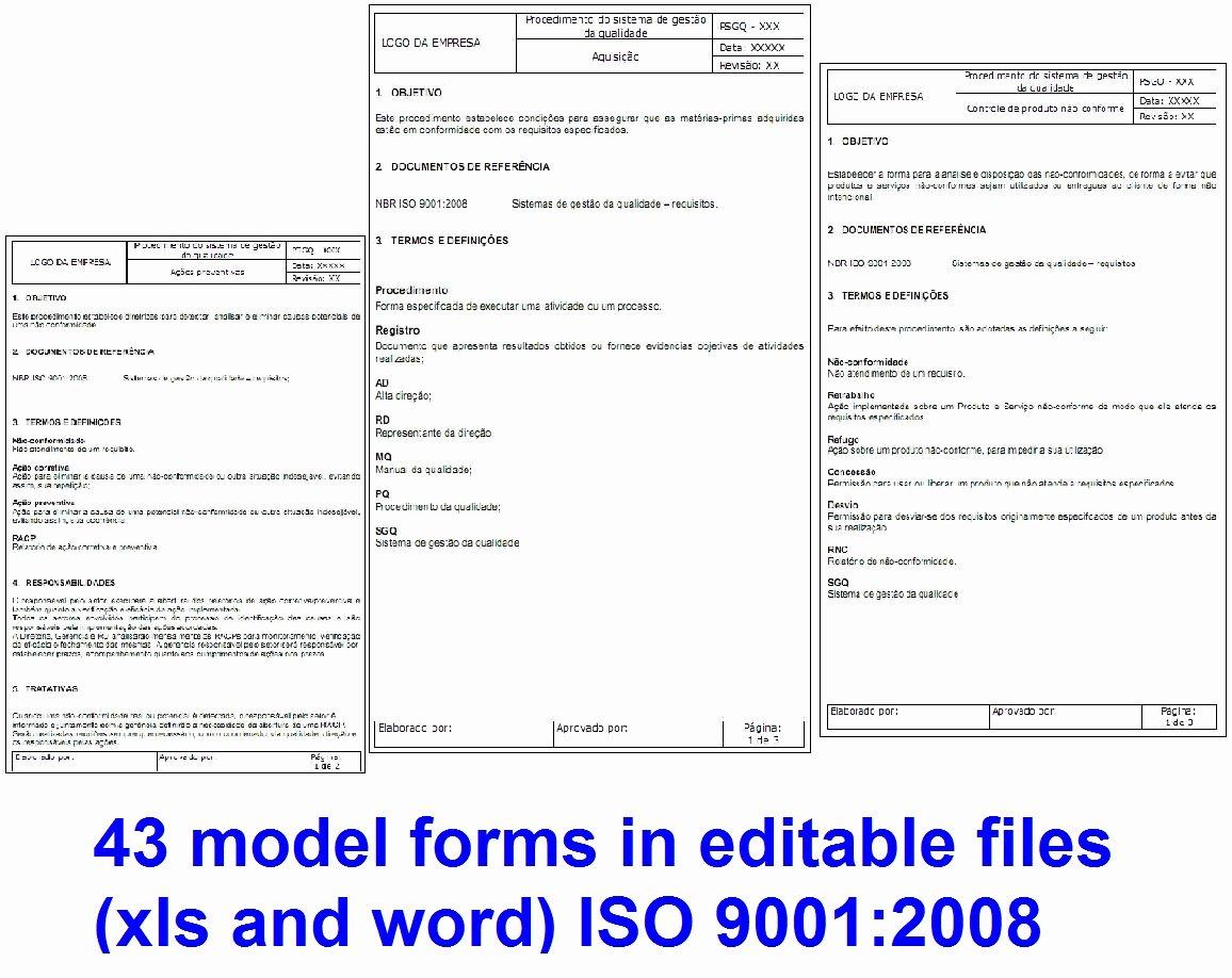 Iso 9001 Work Instruction Template Elegant iso Work Instruction Template to Pin On Pinterest