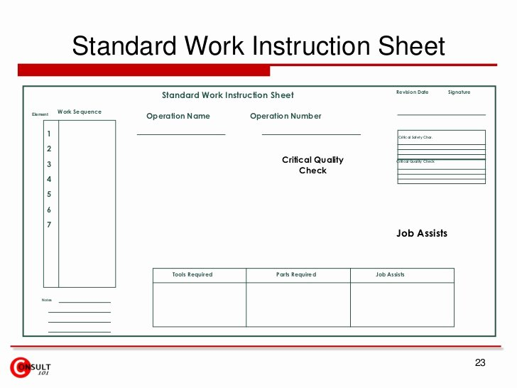 Iso 9001 Work Instruction Template Inspirational Free iso Work Instruction Template
