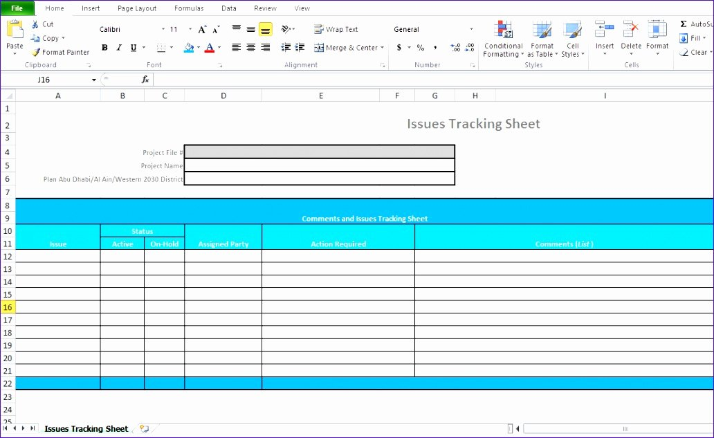 Issue Tracking Excel Template Best Of 11 Excel Project Management Templates Free Download