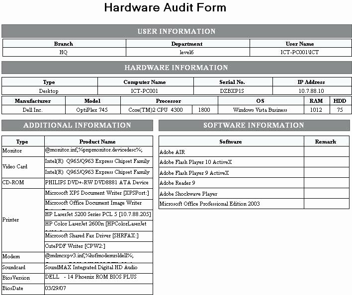 It Audit Checklist Template Awesome It Audit Template Sample – Ustam