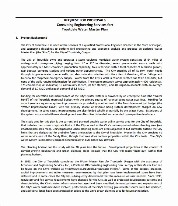 It Consulting Proposal Template Best Of Consulting Proposal Template 18 Free Word Pdf format