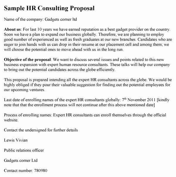 It Consulting Proposal Template Elegant Consulting Proposal Template