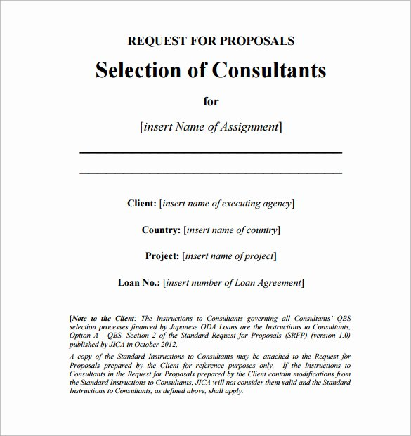 It Consulting Proposal Template Inspirational Consulting Proposal Template 18 Free Word Pdf format