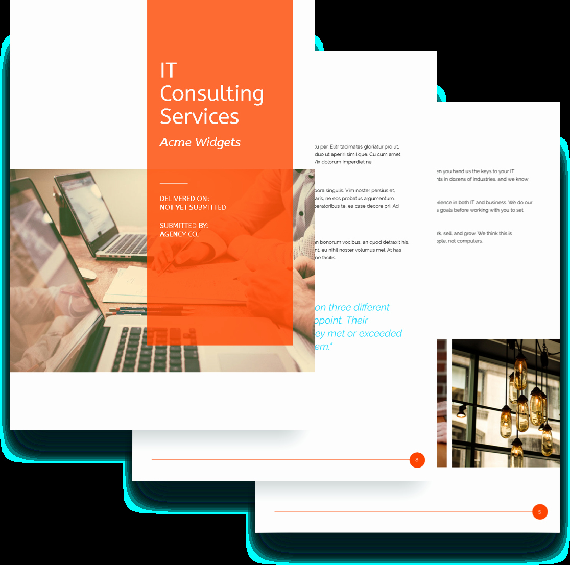 It Consulting Proposal Template Inspirational It Services Proposal Template Free Sample