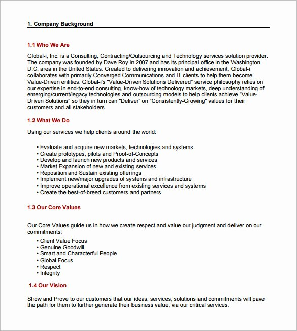 It Consulting Proposal Template Luxury 16 Consulting Proposal Templates Doc Pdf Excel