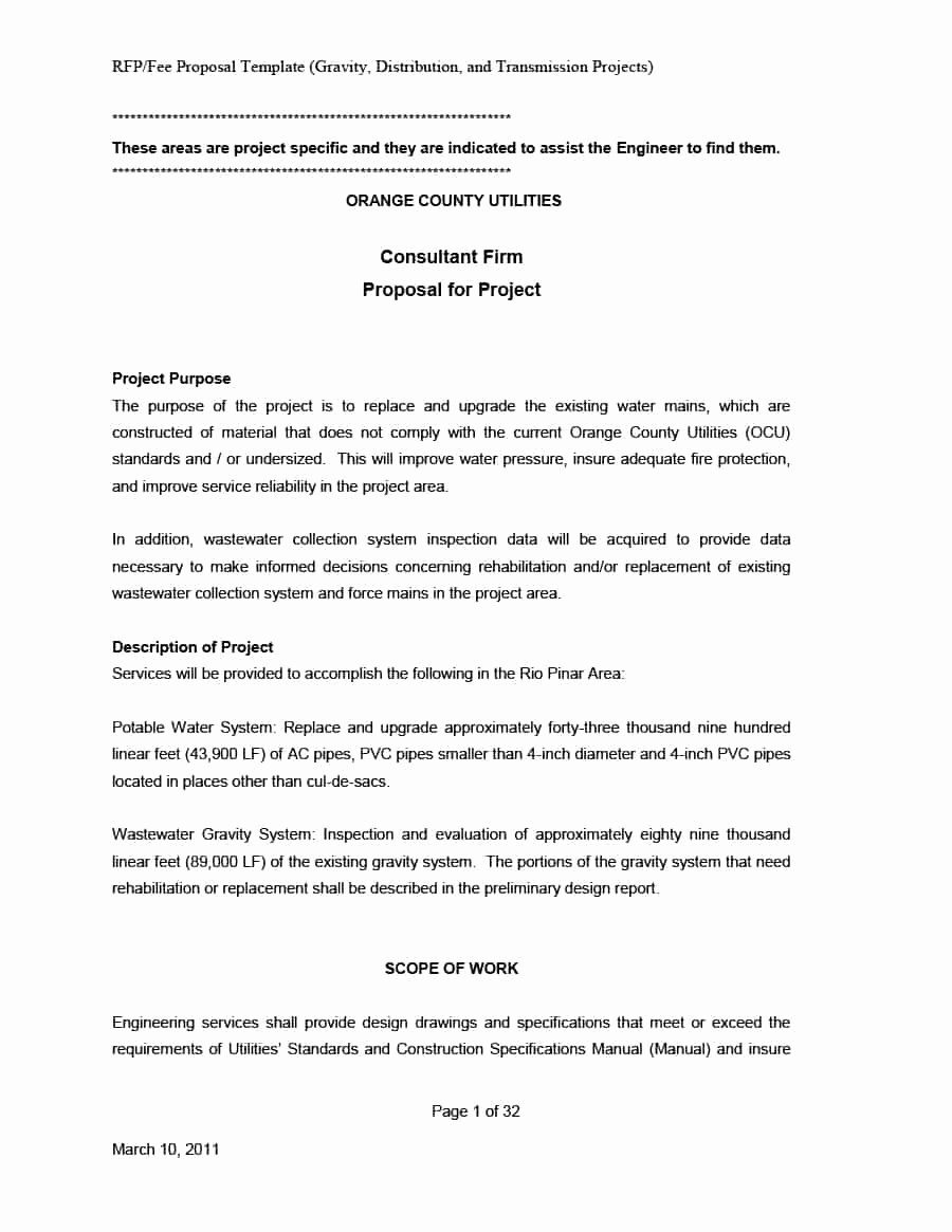 It Consulting Proposal Template New 39 Best Consulting Proposal Templates [free] Template Lab