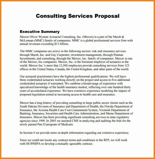 It Consulting Proposal Template New Consulting Proposal Sample Consulting Proposal Template