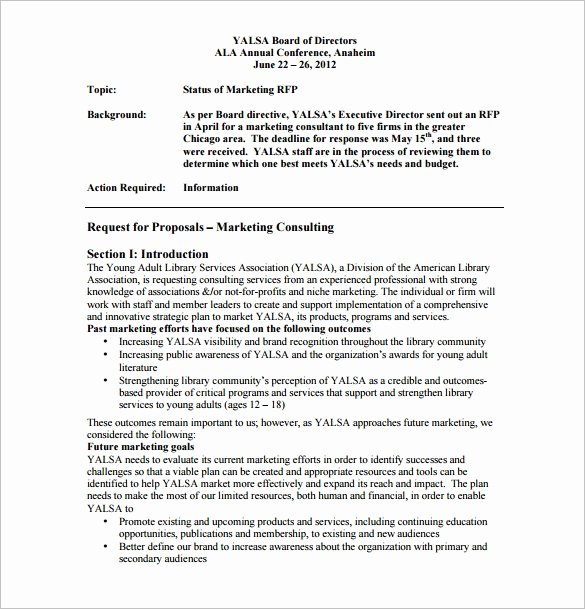 It Consulting Proposal Template New Marketing Proposal Template 28 Free Sample Example