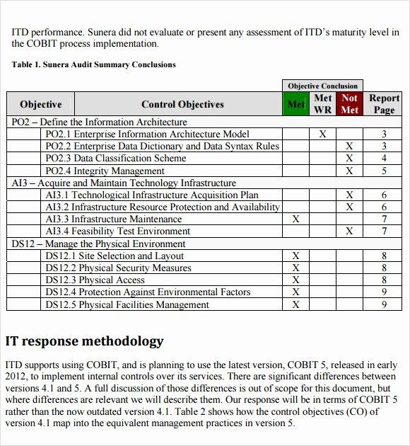 It Risk assessment Template Fresh Sample It Risk assessment Template 12 Free Documents In