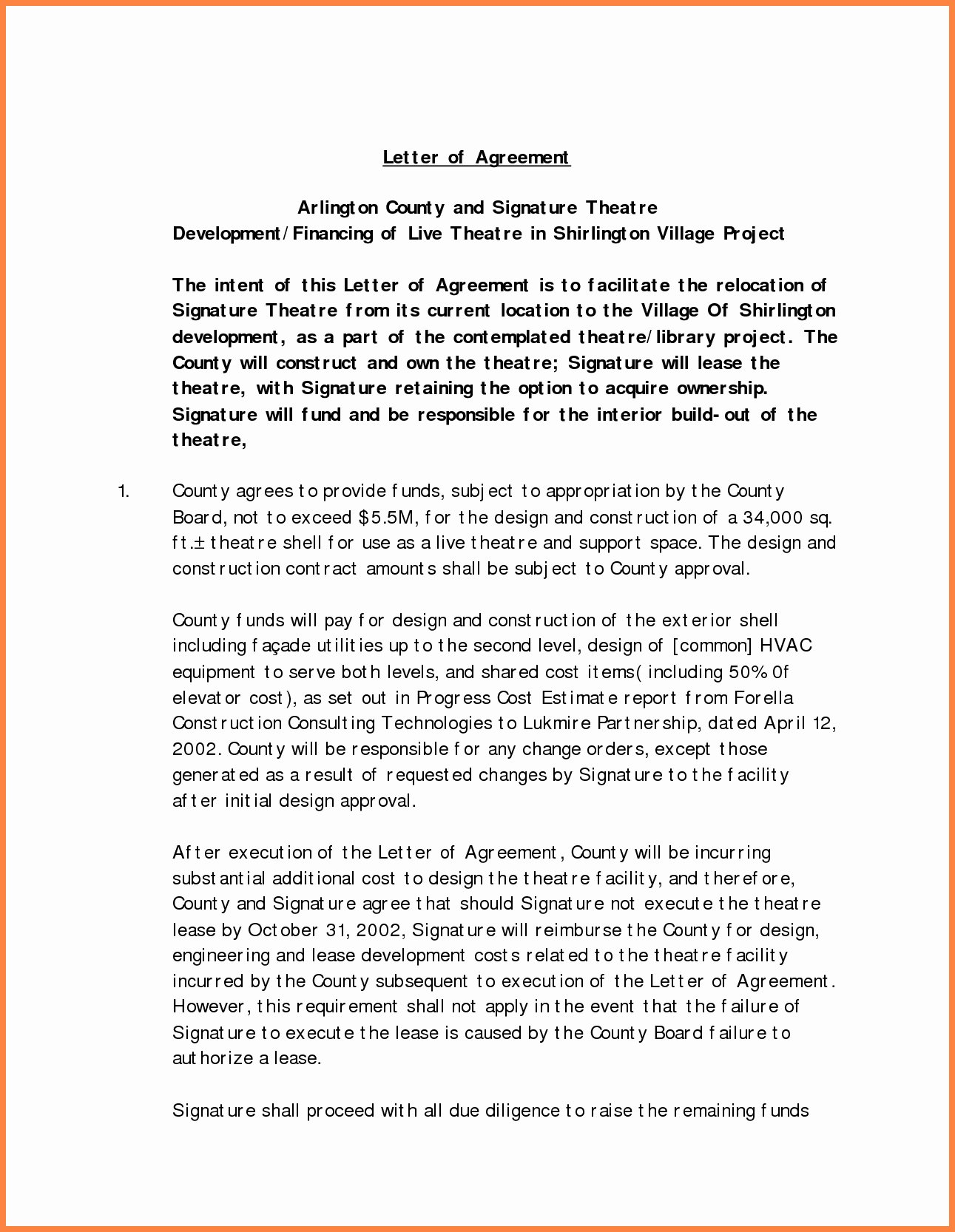 It Support Contract Template Unique Interior Design Letter Agreement Template Collection