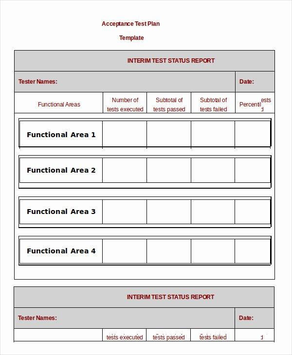 It Testing Plan Template Elegant Test Plan Template 11 Free Word Pdf Documents Download