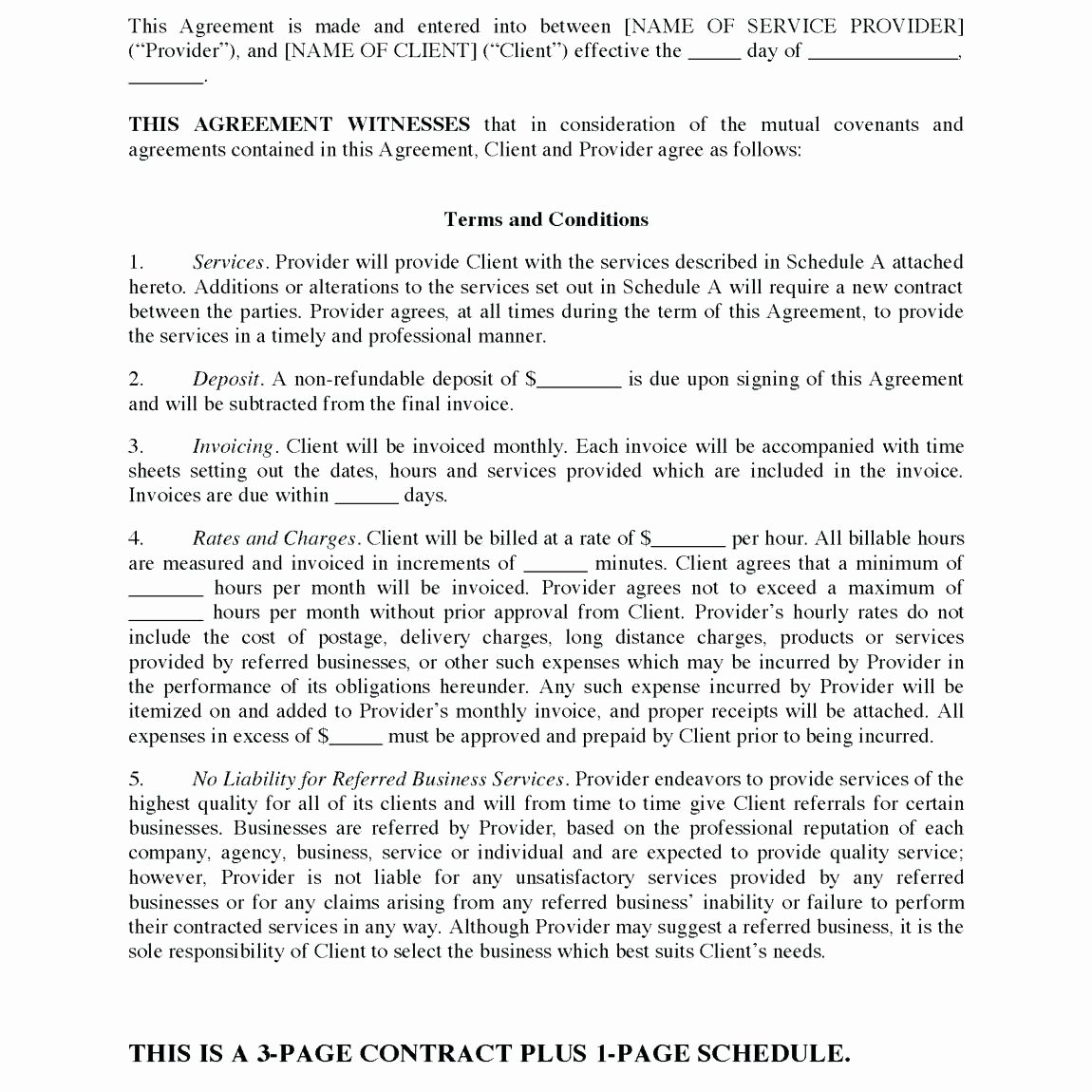 Janitorial Services Contract Template Fresh Janitorial Services Contract Template