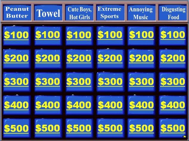 Jeopardy Powerpoint Template 4 Categories Awesome Category Jeopardy Teacher toys