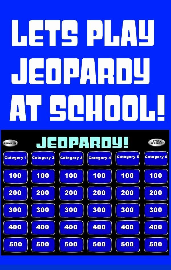 Jeopardy Powerpoint Template 4 Categories Awesome Jeopardy Powerpoint Smartboard Template