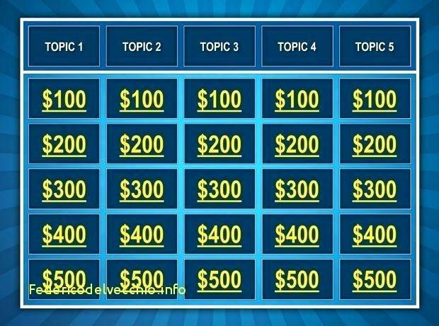 Jeopardy Powerpoint Template 4 Categories Best Of Jeopardy Powerpoint Template – Sabotageincfo