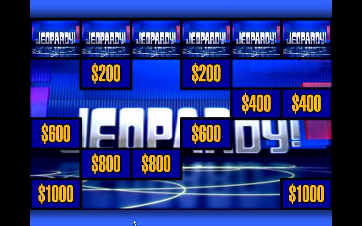 Jeopardy Powerpoint Template 4 Categories Best Of Template Jeopardy Powerpoint Template