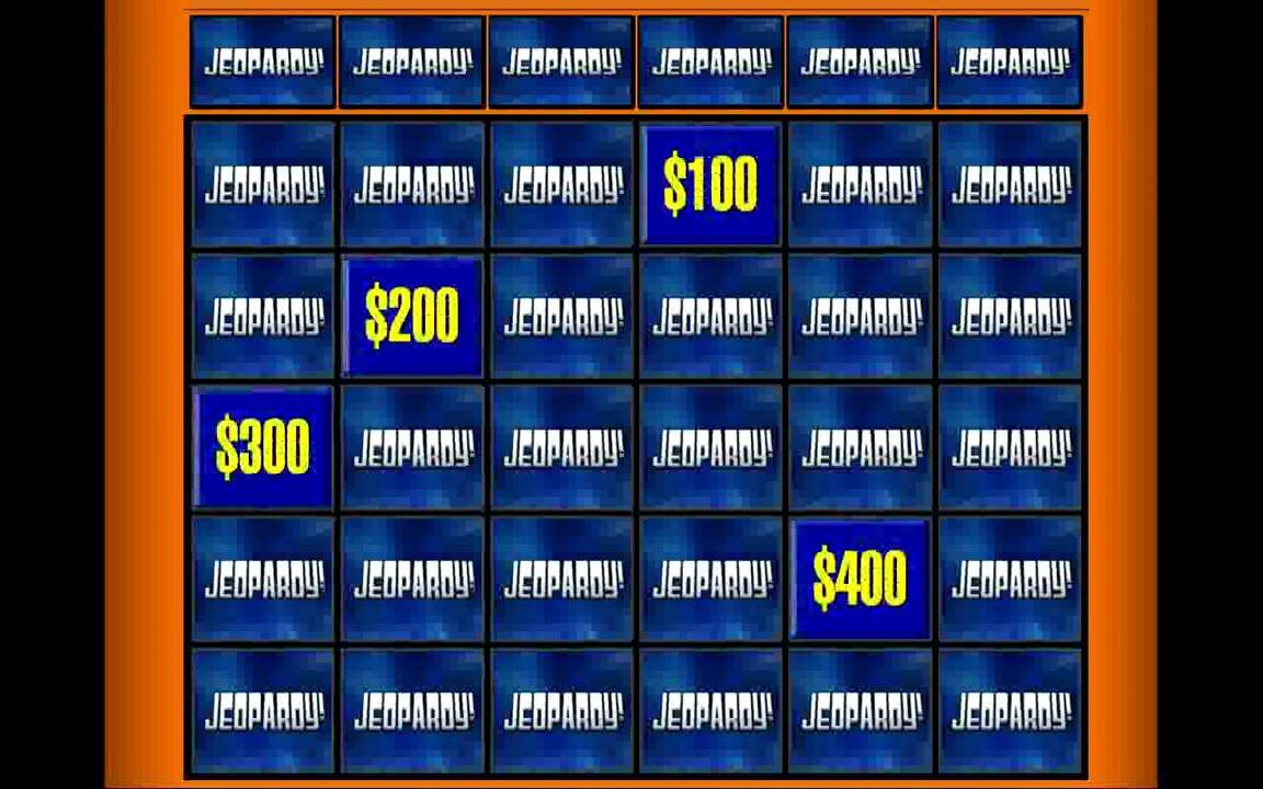 Jeopardy Powerpoint Template 4 Categories Inspirational New Jeopardy 98 theme Powerpoint Game New Version 1 7
