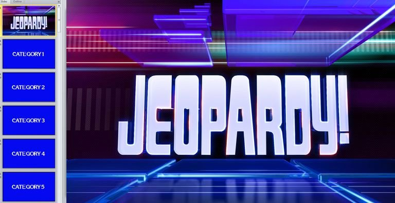 Jeopardy Powerpoint Template 4 Categories Lovely 11 Free Jeopardy Templates for the Classroom