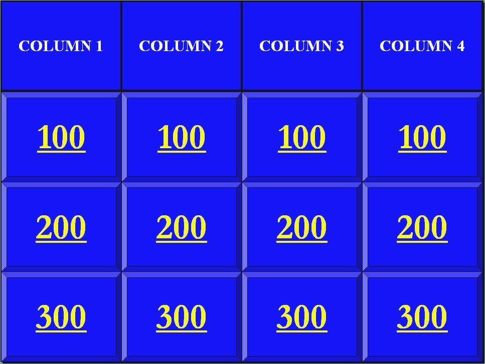 Jeopardy Powerpoint Template 4 Categories Luxury Best Jeopardy Powerpoint Template – Pontybistrogramercy