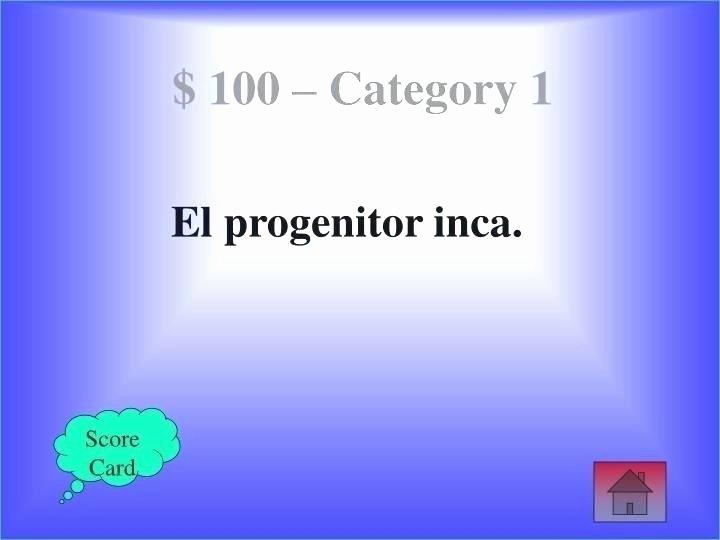 Jeopardy Powerpoint Template 4 Categories Luxury Jeopardy Powerpoint Template 6 Categories with Scoring