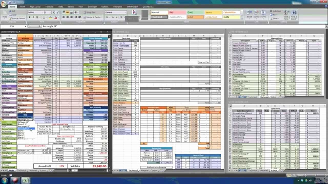 Job Estimate Template Excel Lovely Construction Estimating with Excel