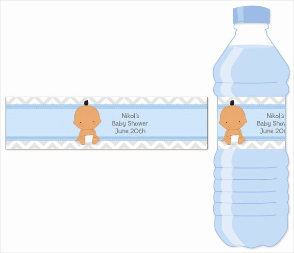 Label for Water Bottle Template Luxury 51 Bottle Label Templates