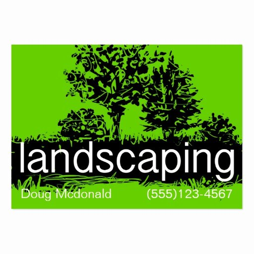 Landscape Business Card Template Awesome Landscaping Business Service Card Template Business Card