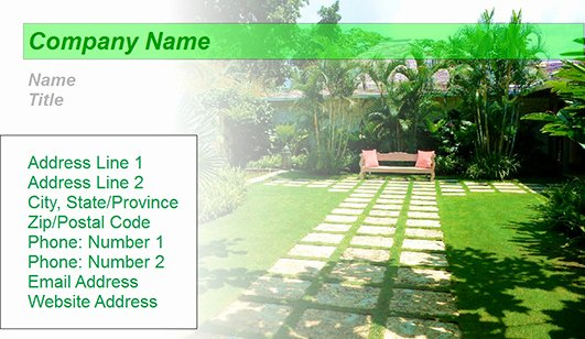 Landscape Business Card Template Beautiful Landscaping Design Business Card Templates – Juicybc Blog