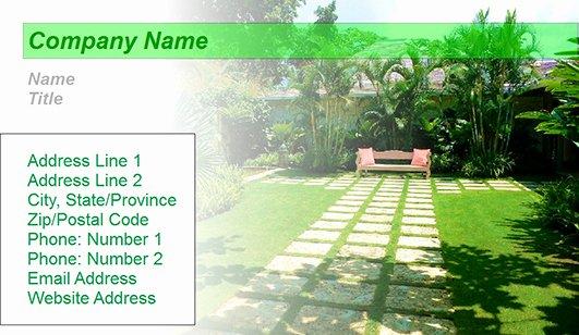 Landscape Business Card Template Beautiful Landscaping Design Business Card Templates – Juicybc Blog