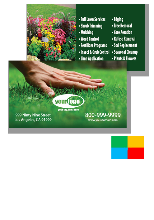Landscape Business Card Template Best Of Landscaping Business Cards Templates
