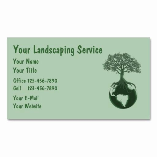Landscape Business Card Template Fresh 10 Images About Lawn Care Business Cards On Pinterest