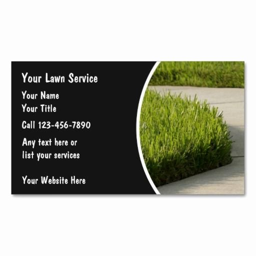Landscape Business Card Template Inspirational 10 Images About Lawn Care Business Cards On Pinterest