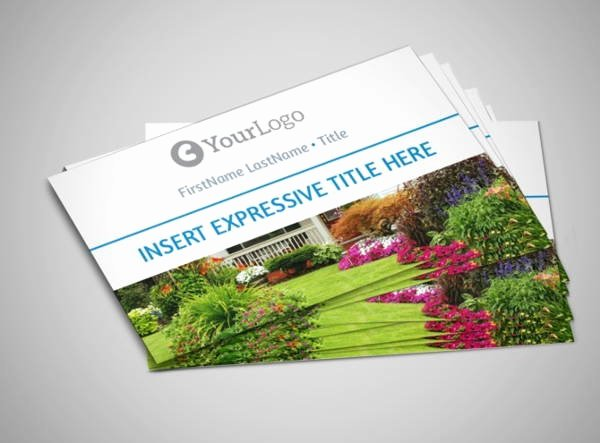 Landscape Business Card Template Lovely 10 Best Landscaping Business Card Templates Pages Ai