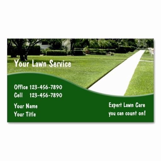 Landscape Business Card Template Lovely 10 Images About Lawn Care Business Cards On Pinterest