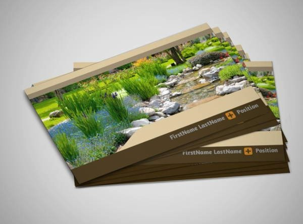 Landscape Business Card Template New 10 Best Landscaping Business Card Templates Pages Ai