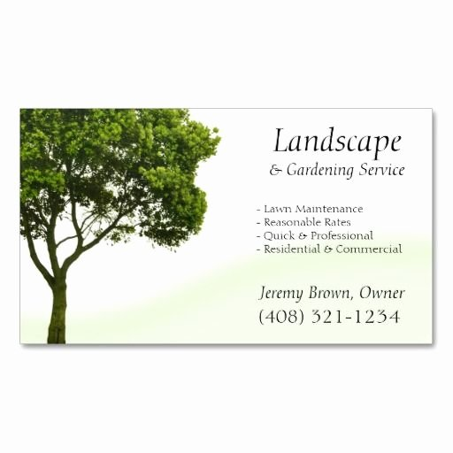 Landscape Business Card Template New 137 Best Images About Landscaping Business Cards On