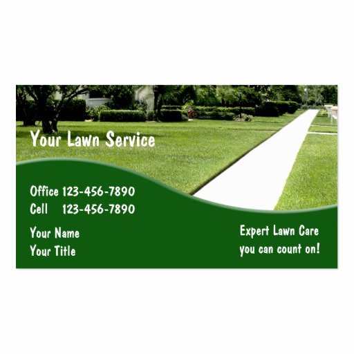 Landscape Business Card Template New Landscaping Business Cards